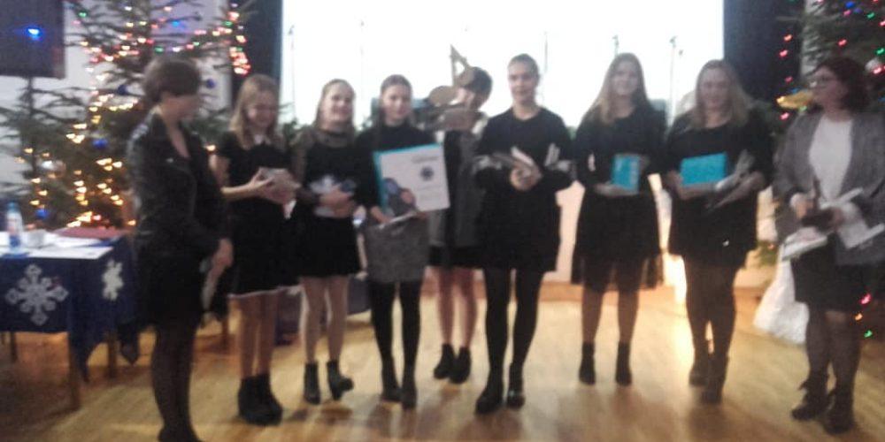 Zespół wokalny z MOKSiAL-u nagrodzony :-)